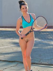 Carrie-II Buttalicious Tennis Picture 1