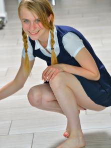 Sharlotte Schoolgirl Style Picture 11
